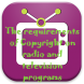 The program on radio and television channels must satisfy the requirements of copyright.