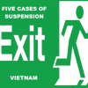 Cases of suspension from exit Vietnam for foreigner