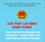 Legal service on issuance and extension of work permit for foreigner working in Vietnam