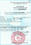 Legal services on issuance of temporary residence card for foreigners in Vietnam