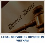 Legal services on divorce in Vietnam