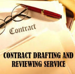 Contract drafting and reviewing service