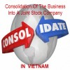 Consolidation of the companies into a joint stock company in Vietnam
