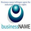 Business name infringes upon the industrial property rights