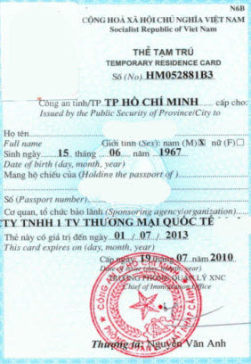 Legal services on issuance of temporary residence card for legal services on issuance of temporary residence card for foreigners in vietnam yelopaper Choice Image